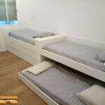 Camas a medida Habitación Triple Infantil con Armario | Barcelona | Beatriz