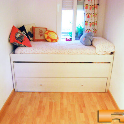 Habitación Infantil con Armario y cama compacta Triple   Anna   Barcelona