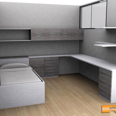 cama_nido_habitacion_estudio_niño_juvenil_caldes_laura_3d_escritorio