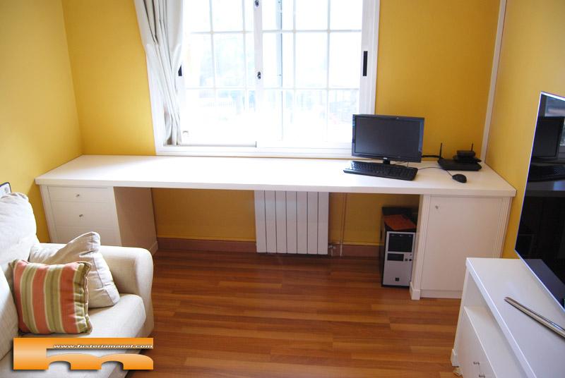 escritorio_a_medida_lacado_caballero_Francesc_Llavaneres