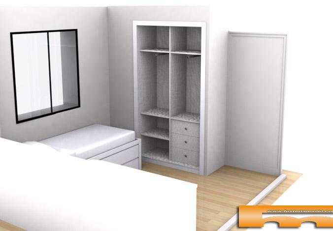 habitacion_juvenil_armario_interior_lacado_Sant_Cugat_Merce_3d