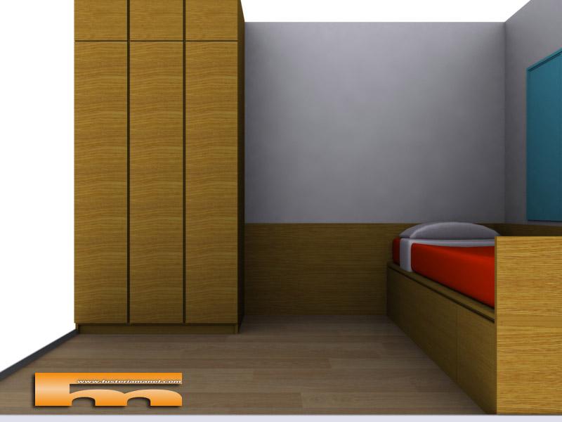 habitacion_juvenil_melamina_a_medida_cerdanyola_del_valles