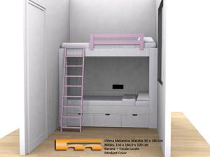 litera-a-medida-para-niñas-rosa-Judit-Barcelona3d