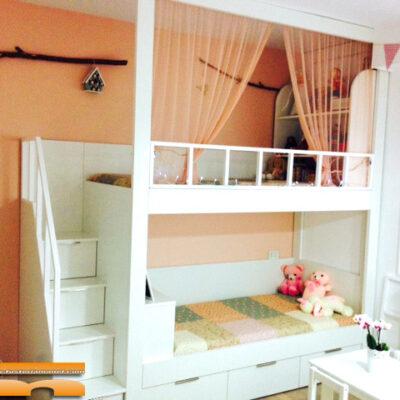 Litera Escalera de cajones Habitación Infantil | Guipuzkoa | Miren