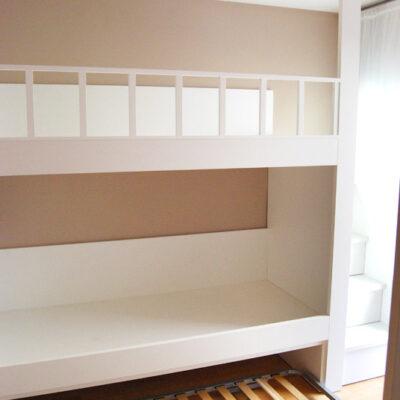 Litera enmarcada a medida para Habitación Infantil | Dani | Barcelona