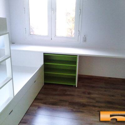 Habitación Infantil con Litera tren | Eva | Barcelona