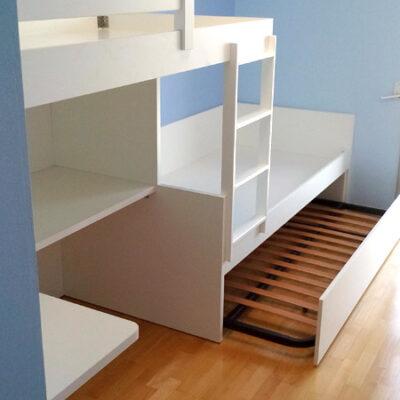 Habitacion Infantil Litera Escritorio   jordi   Sabadell