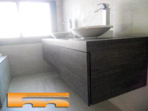 mueble baño suspendido cajones cerdanyola marta apertura push