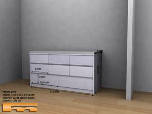 mueble_baño_a_medida_lacado_cajones_Sonia_SantCugatdelValles_3d