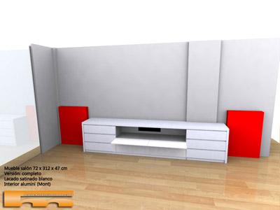 mueble_tv_a_medida_lacado_Barcelona_Clara_cajones_3d