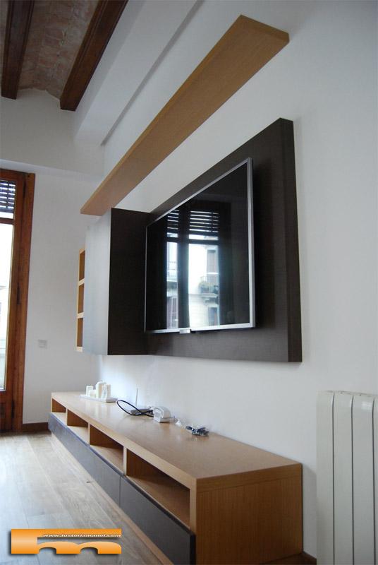mueble_tv_a_medida_salon_pared_barcelona_agoldberg