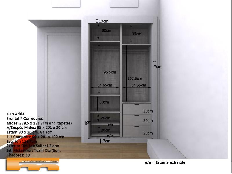 habitacion_infantil_armario_3dint_empotrado_Cristina_SantCugat