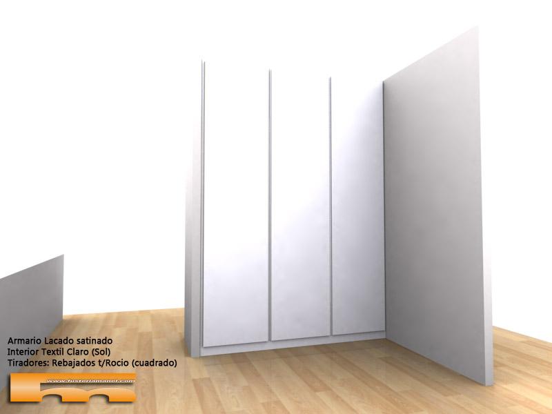 armario para vestidor a medida esquinero 3d Raquel Matadepera
