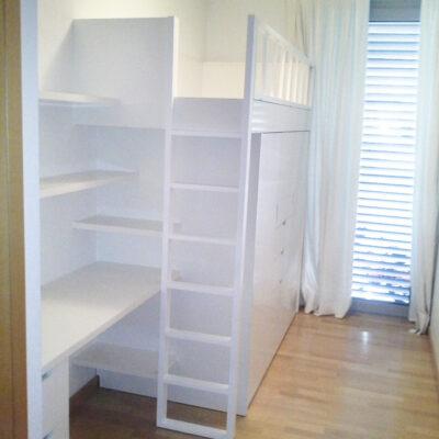 cama block a medida con zona estudio habitacion infantil_gral_Jorge_Barcelona
