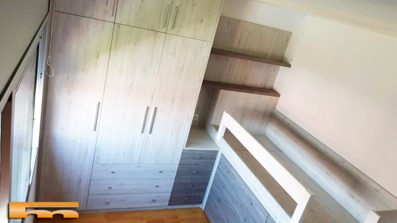 habitacion_infantil_juvenil_niño_armario cama y estudio_Elsa_Rubi