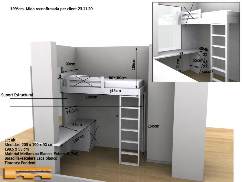 cama alta habitación juvenil Noelia Barcelona.jpg