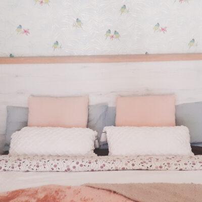 Cabezal cama Conjunto armario a medida Rubí